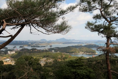 The coastal scenery of Amakusa islands in Kumammoto, Kyushu, Japan.