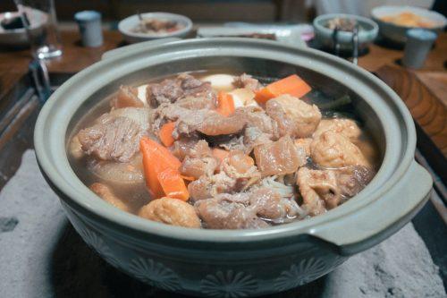 Oden Dinner in Takane Village Farm House Homestay in Niigata Prefecture