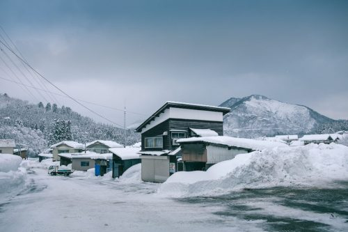 Takane Village Snowy Farm Town in Niigata Prefecture