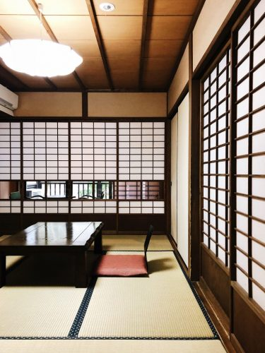 Kurokawa onsen, a nostalgic onsen village inspired by Ghibli film in Kumamoto Prefecture, Kyushu, Japan.