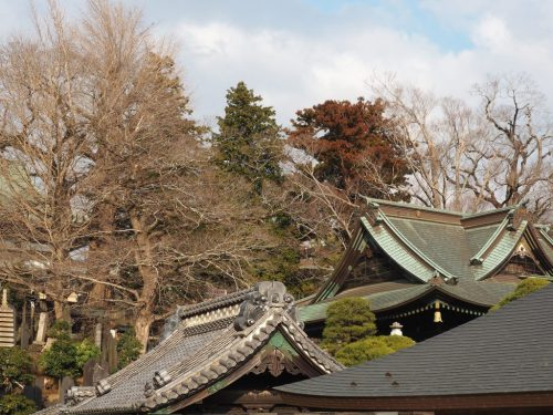 The historical Narita-san Temple near the Narita International Airport in Japan.