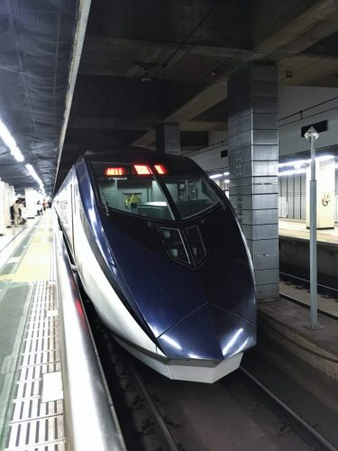The stylish Keisei Skyliner