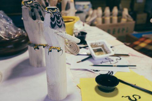 Yonezawa City Sasano Folklore Museum Otaka Poppo Painting Yamagata Prefecture Crafts