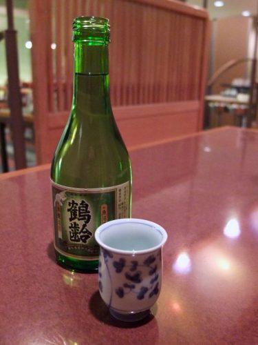Niigata Sake at the Naeba Prince Hotel Matsukaze Restaurant