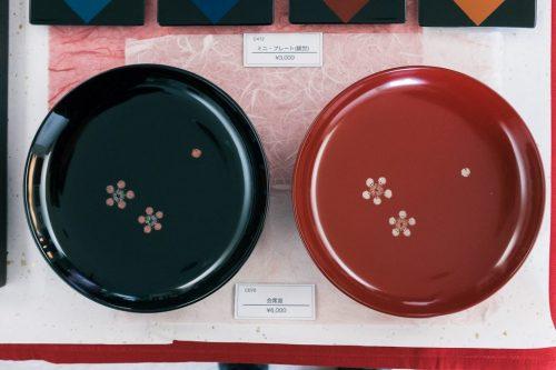 Murakami's  Lacquerware  in Niigata Prefecture, Japan.
