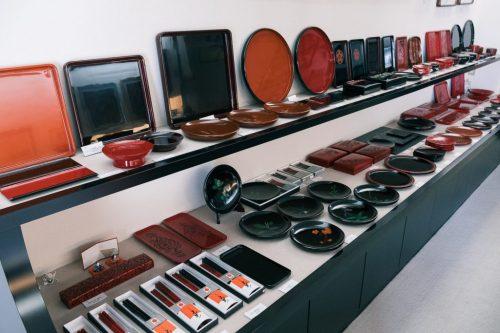 Urushi Ohtaki Murakami Lacquerware Store Kibori Tsuishu Niigata Prefecture