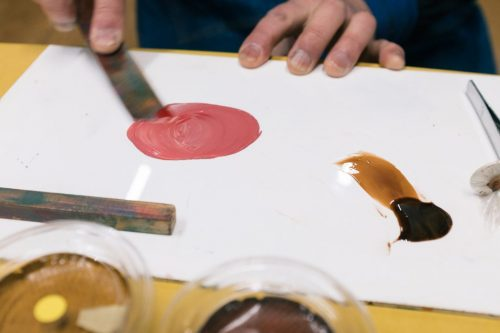 Murakami Lacquerware Workshop Lacquer Painting Making Experience Niigata Prefecture