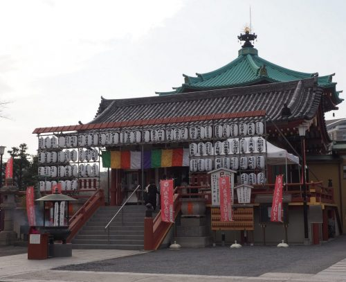 Bentendo at Yanesen area  in Tokyo, Japan.