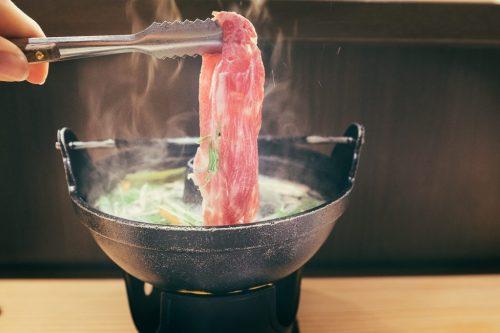 Yonezawa Beef Shabu-Shabu Hot-Pot Yamgata Prefecture Restaurant