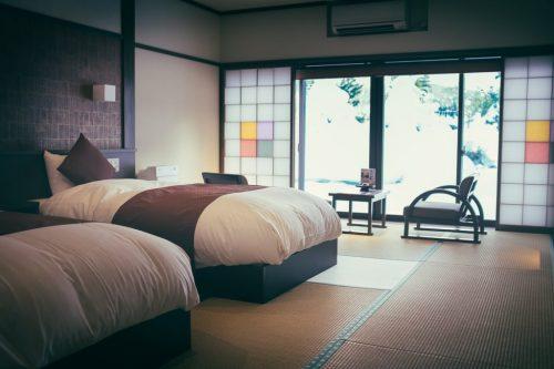 Onogawa Onsen Kajikaso Western Style Room in Yonezawa Hot Spring Ryokan