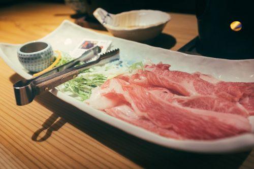 Onogawa Onsen Kajikaso Serves Yonezawa Beef Shabu Shabu in Winter