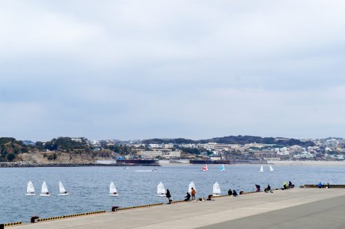 Enoshima: A Hotspot for Sailing Just an Hour from Tokyo