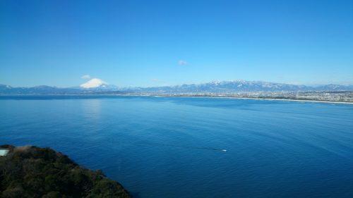 Mount fuji view from Enoshima