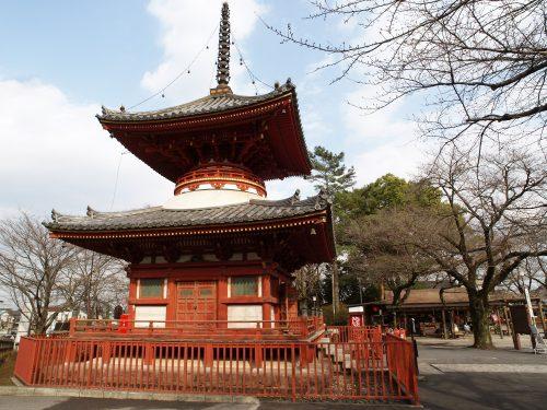 Kawagoe's famous Kita-in Temple