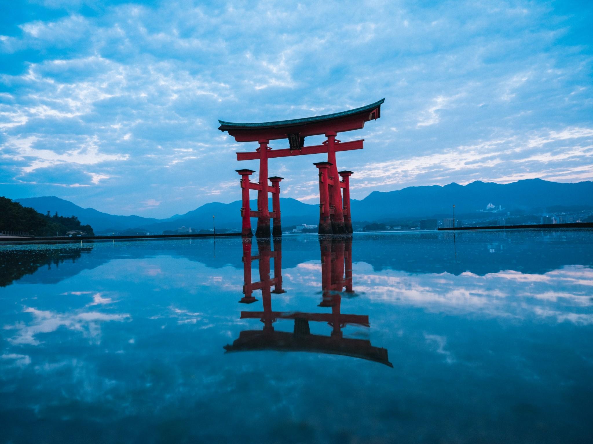 Miyajima floating torii