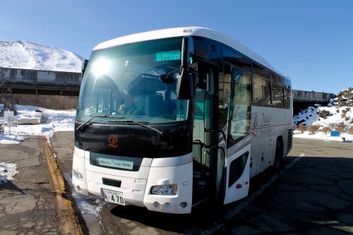 The Manza Prince Hotels runs shuttle buses from Karuizawa Station