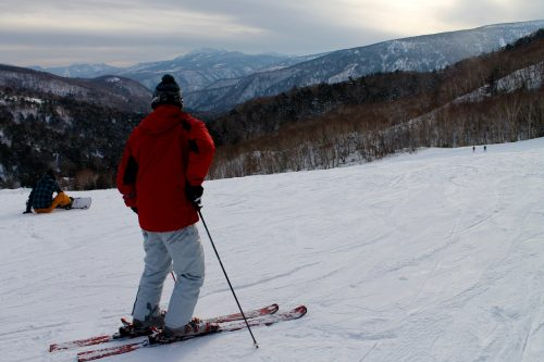 Enjoy Skiing at Manza Ski Resort, close to Tokyo, Japan.