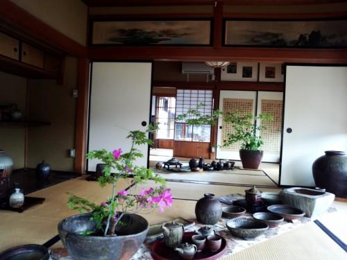 Historic Matsuhiro Nagano City Japan Samurai House War Tunnels Shrine Castle