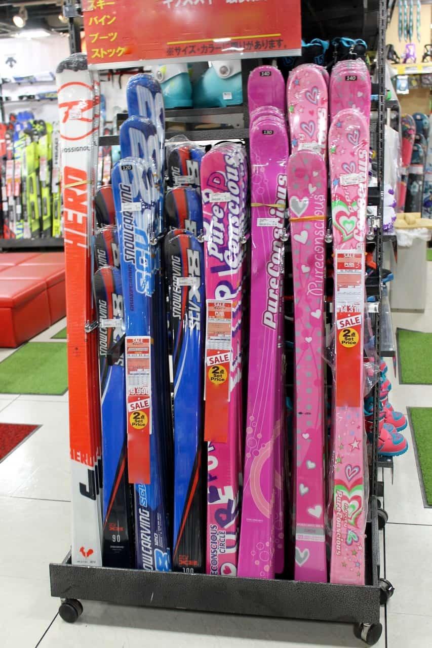 Victoria Ski Snowboard Shop Equipment Tokyo Resort Gear Kids Children Skis