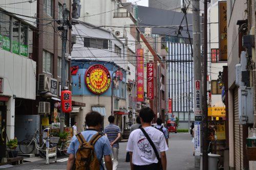 Korakuen hall in Tokyo to watch japanese martial arts