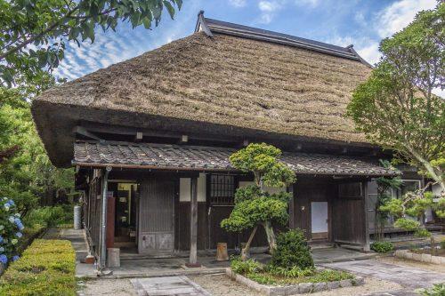 Goshuinkan in Murakami, Niigata, Japan.
