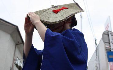 Sado's local festival in the island, Niigata Prefecture, Japan.