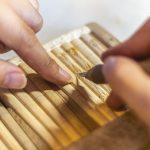 Murakami's traditional lacquerware craftsmanship