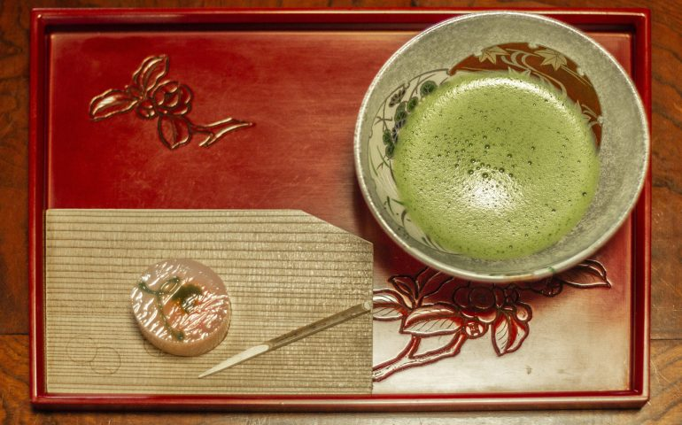 Murakami Tea Matcha Traditional Teahouse Local Cuisine Niigata Prefecture