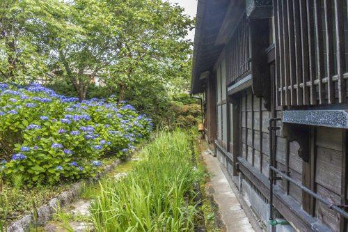 Goushikan Inn Ryokan Traditional Accommodation Local Cuisine Niigata Prefecture Murakami Garden