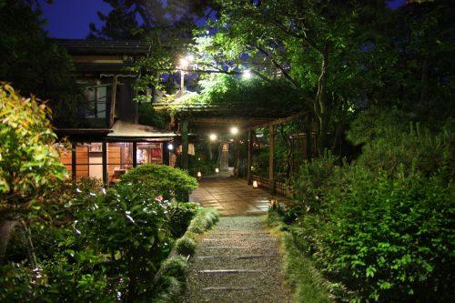 Niigata City Furumachi Geigis Geisha Performance Ikinariya Ryotei Dining Traditional Japanese Garden