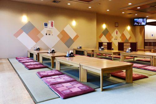 Riraku ryokan located in Toon city, Ehime Prefecture, offers us a nice stay.