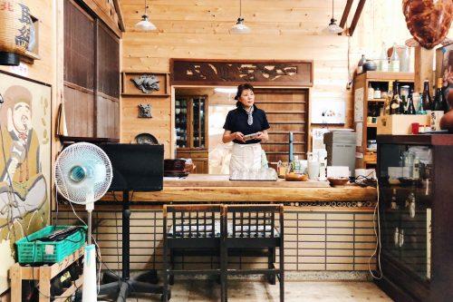 Botanchaya: a restaurant with authentic charm in Toon city, Ehime Prefecture, Japan.