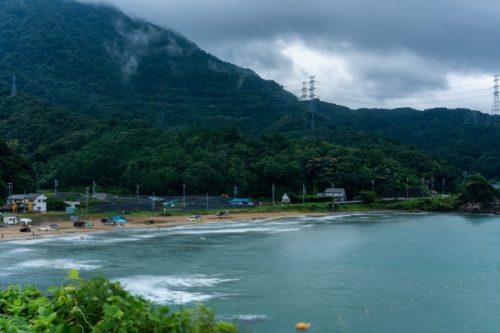Nabae beach in Takahama town, Fukui, Japan