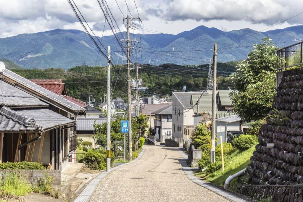 The Nakasendō Hiking Trail, Gifu Prefecture, Japan