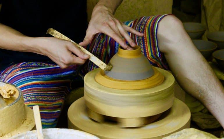 Ontayaki Onta Hita Oita Prefecture pottery ceramics local crafts folk art Mingei