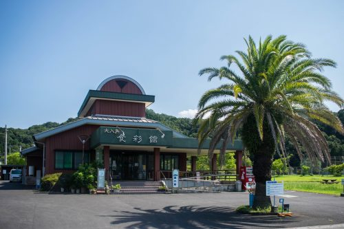 Restaurant on Ohnyujima Island, Oita Prefecture, Japan