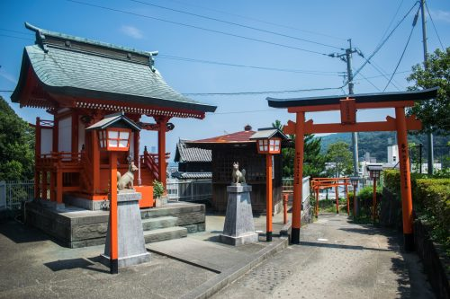 Sanctuary in Usuki, Oita Prefecture, Japan