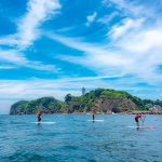Stand Up Paddle Board Lesson in Enoshima