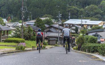 Cycling tour in Nakatsugawa, Gifu Prefecture, Japan