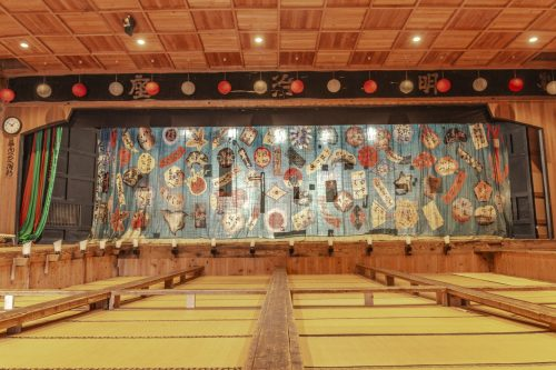 Kabuki Theater in Nakatsugawa, Gifu Prefecture, Japan