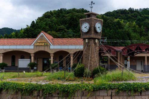 Wakasa Wada Station, Fukui Prefecture, Japan.
