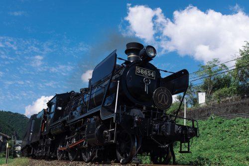 Hitoyoshi SL Steam Train, Kumamoto Prefecture, Kyushu, Japan