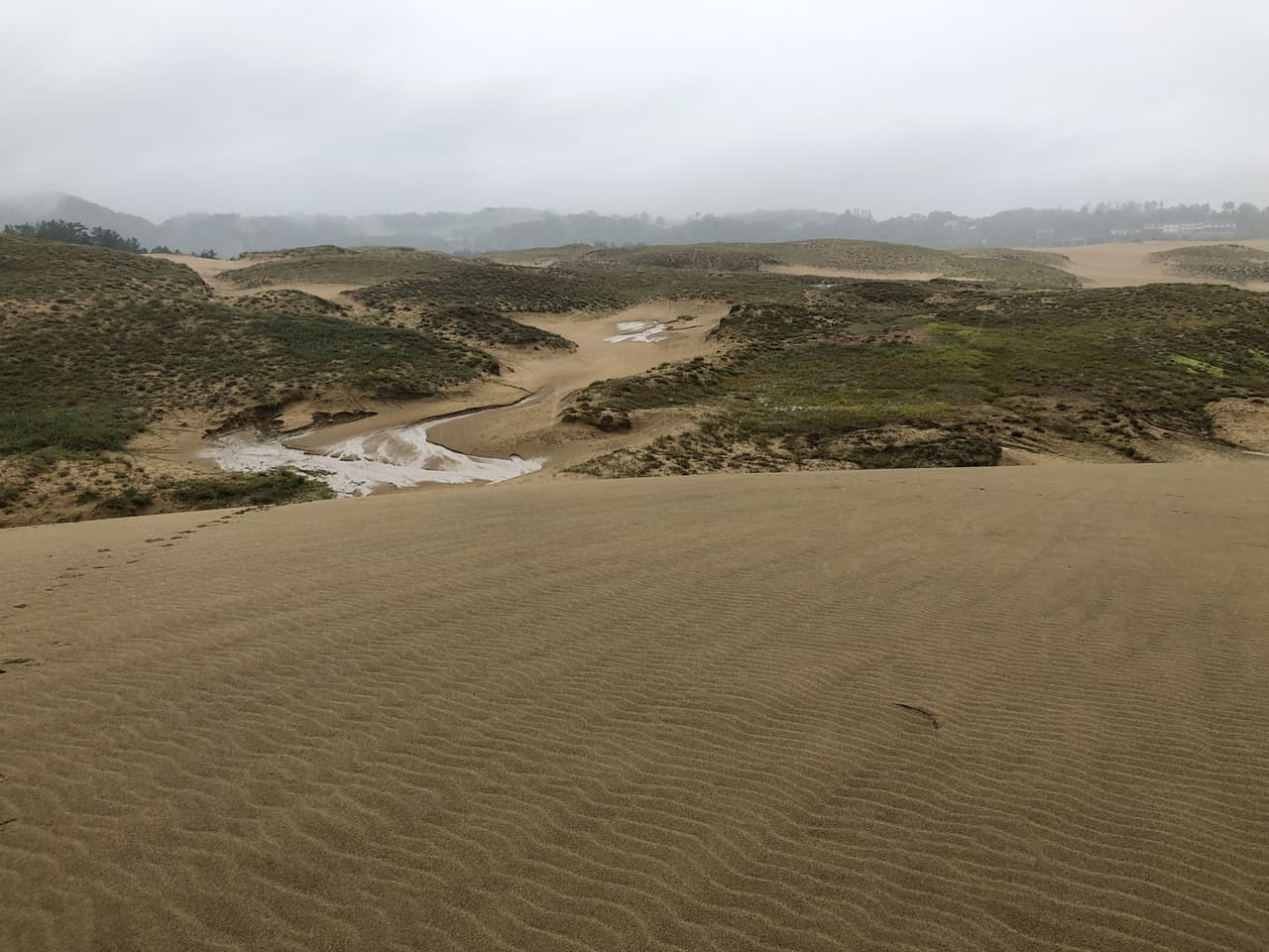 The fascinating sand dunes of Tottori