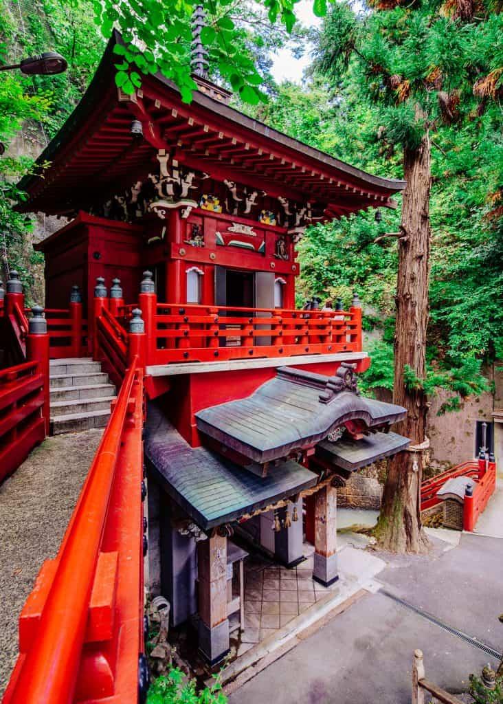 Nakano Fudoson Temple in Japan