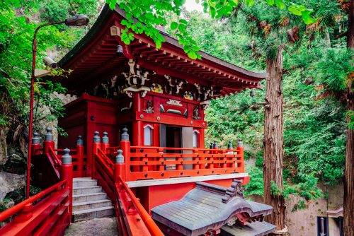 Nakano Fudoson - An 800-year-old Temple Hidden In Fukushima, Tohoku, Japan.