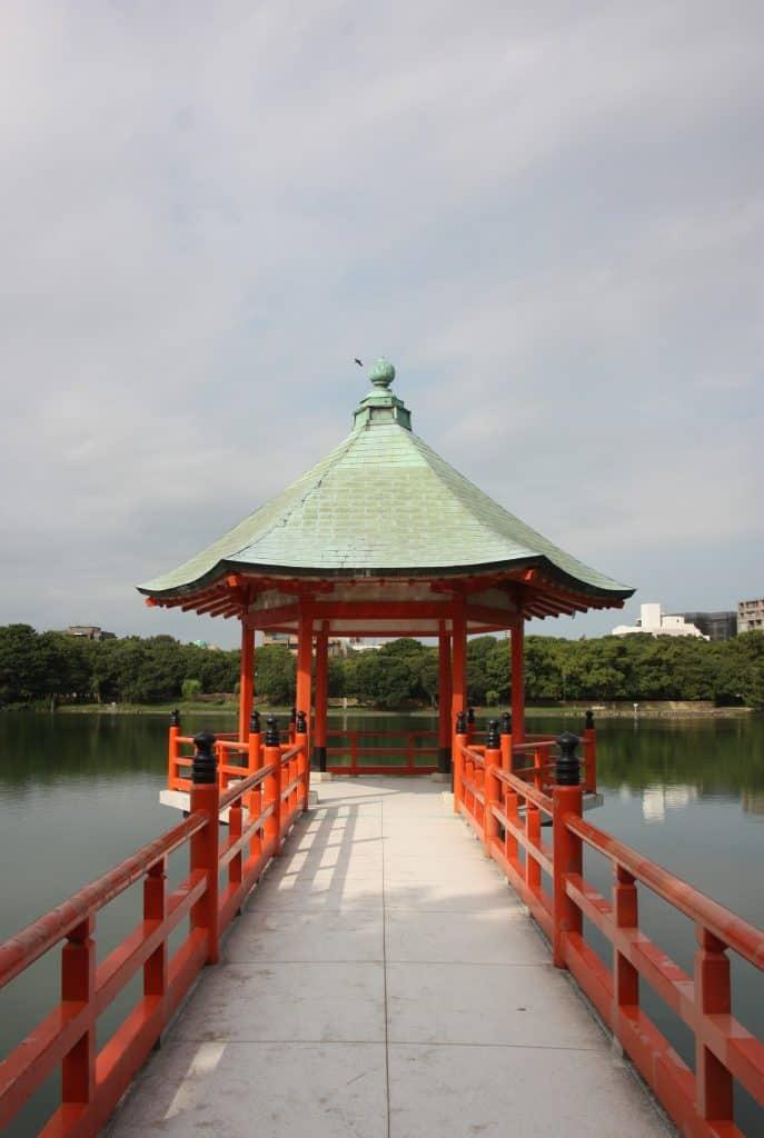 Ohori park, Fukuoka, Kyushu, Japan.