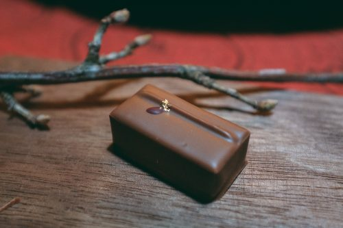 New collection at Rozilla, the chocolate shop by Es Koyama, in Sanda, Hyogo Prefecture, Japan