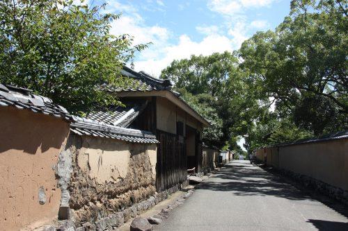 A walk in a samurai town, Kitsuki, Oita, Kyushu,Japan.