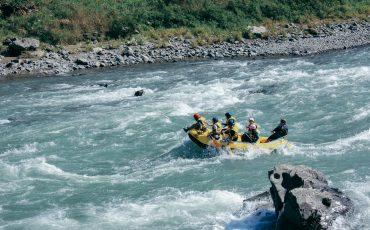 Rafting on the Kuma River, Kumamoto Prefecture, Kyushu, Japan