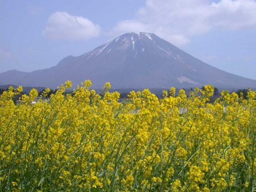 Mt Daisen, known as little Fuji in Tottori Prefecture, Japan.